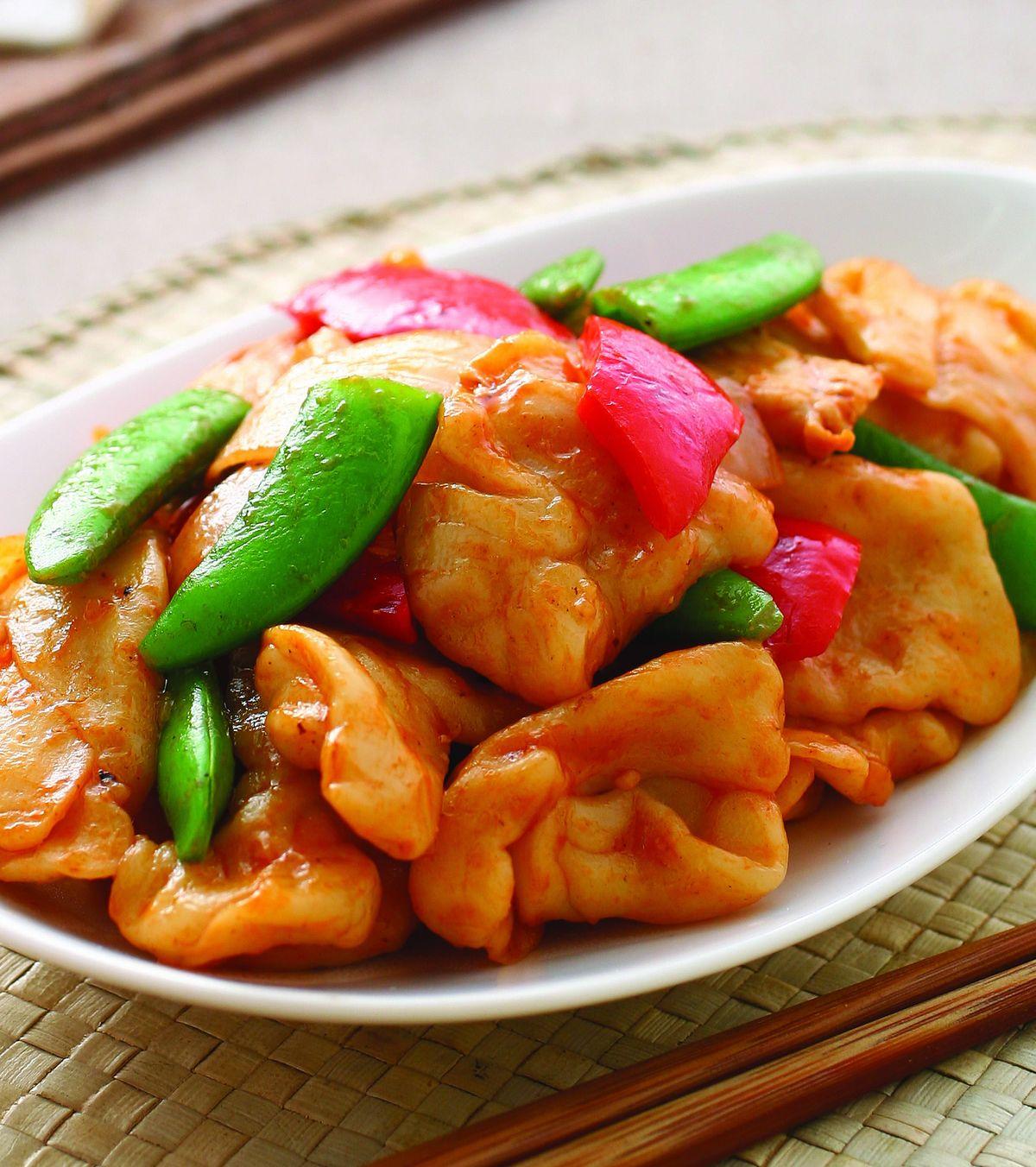 食譜:茄汁炒麵疙瘩