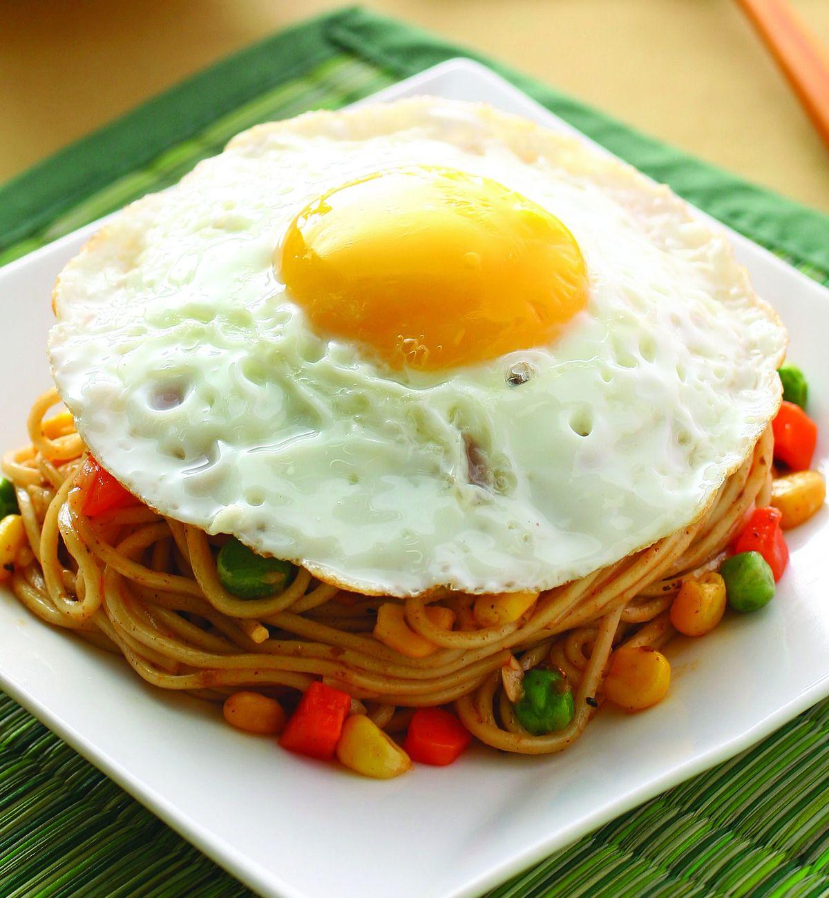 食譜:蘑菇鐵板麵(1)