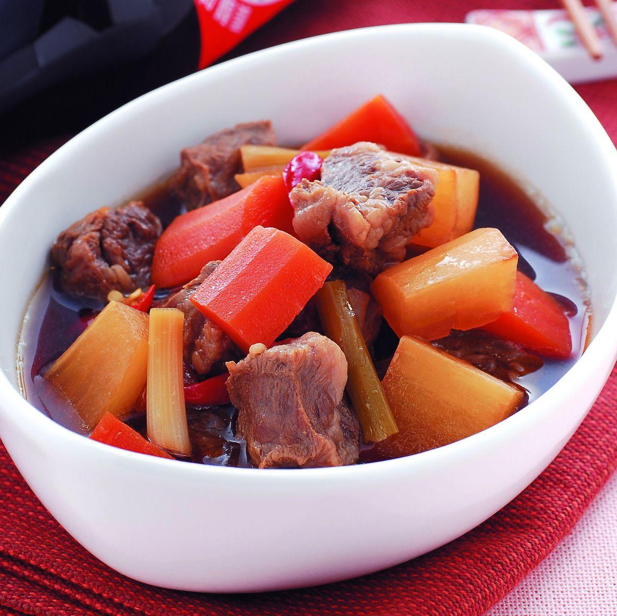 食譜:牛腩燒煮(1)