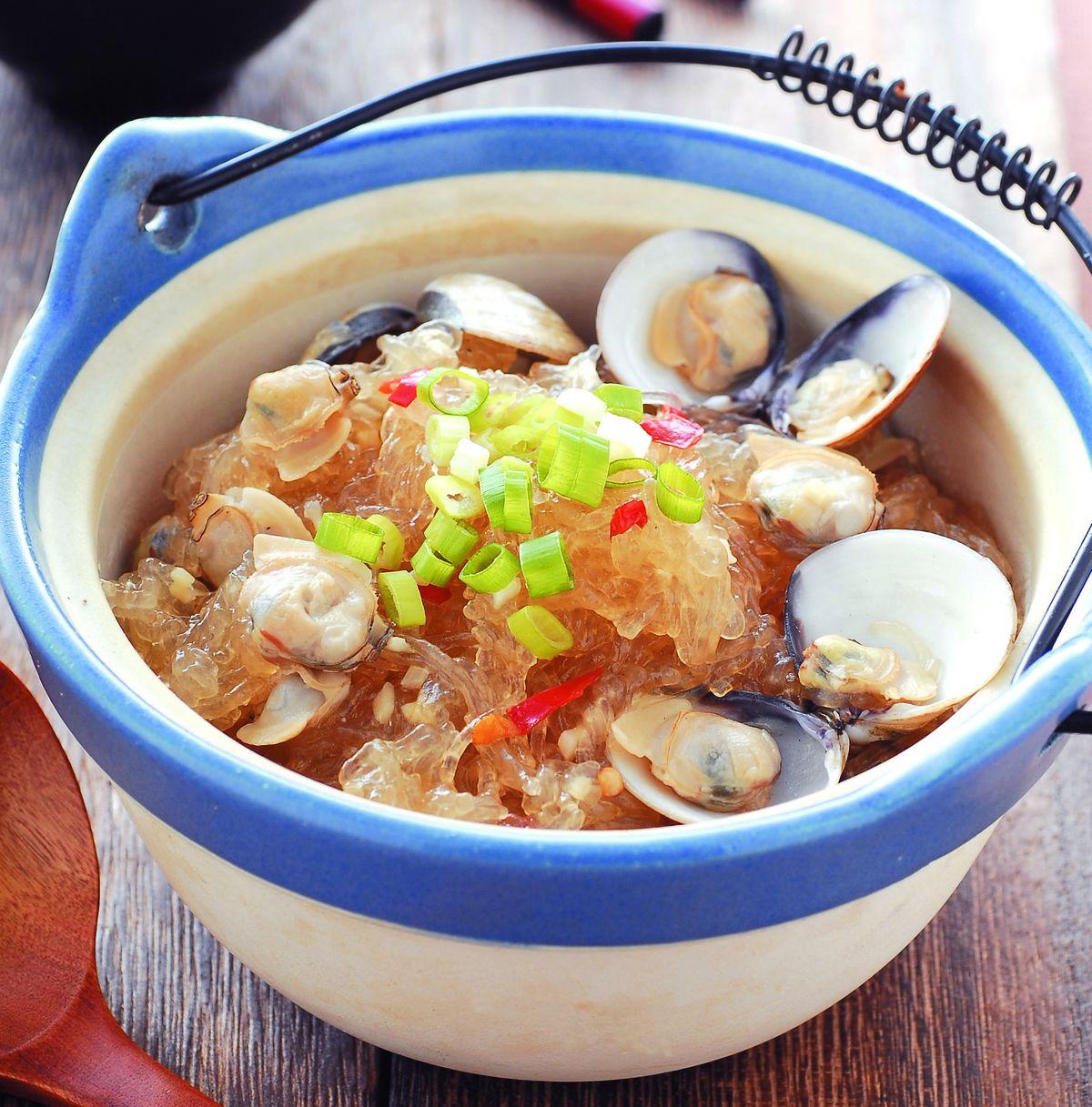 食譜:蛤蜊煲粉絲