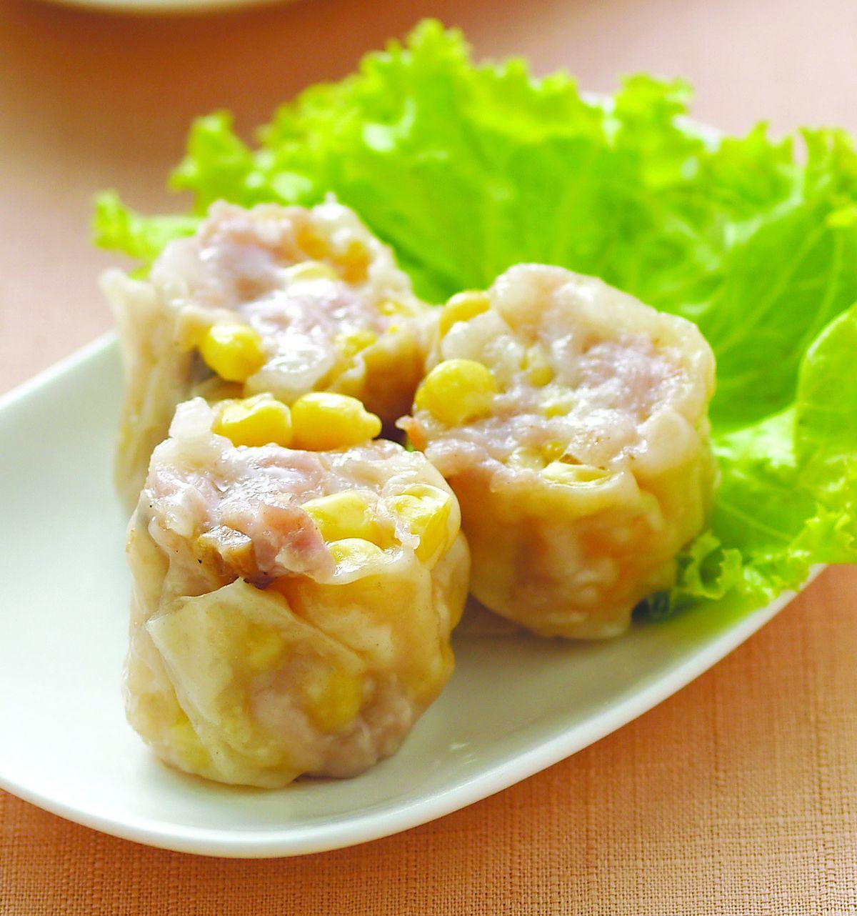 食譜:玉米燒賣