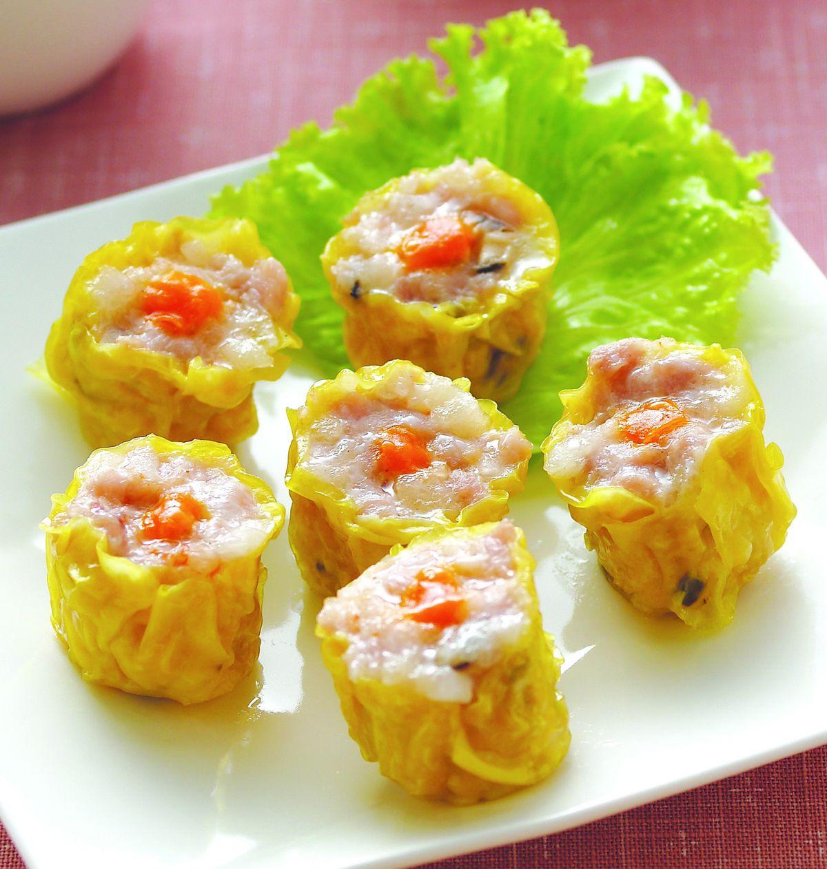 食譜:港式蟹黃燒賣