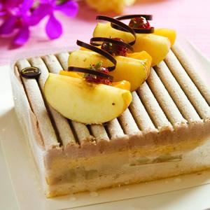 榛果粟子蛋糕