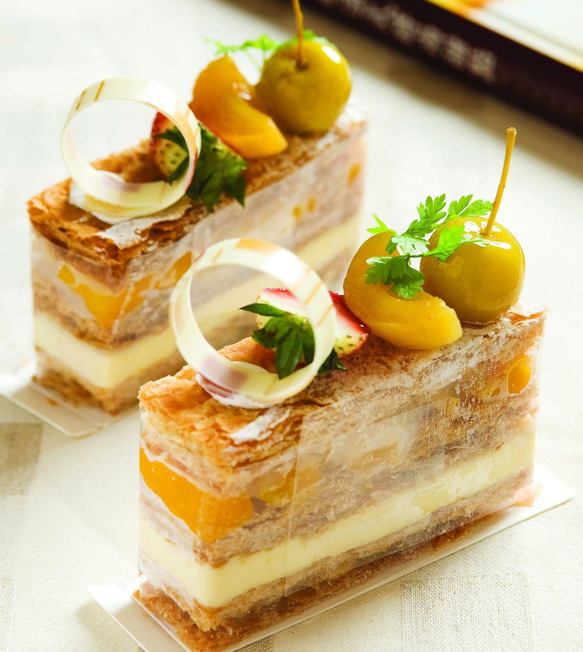 食譜:熱帶水果千層酥