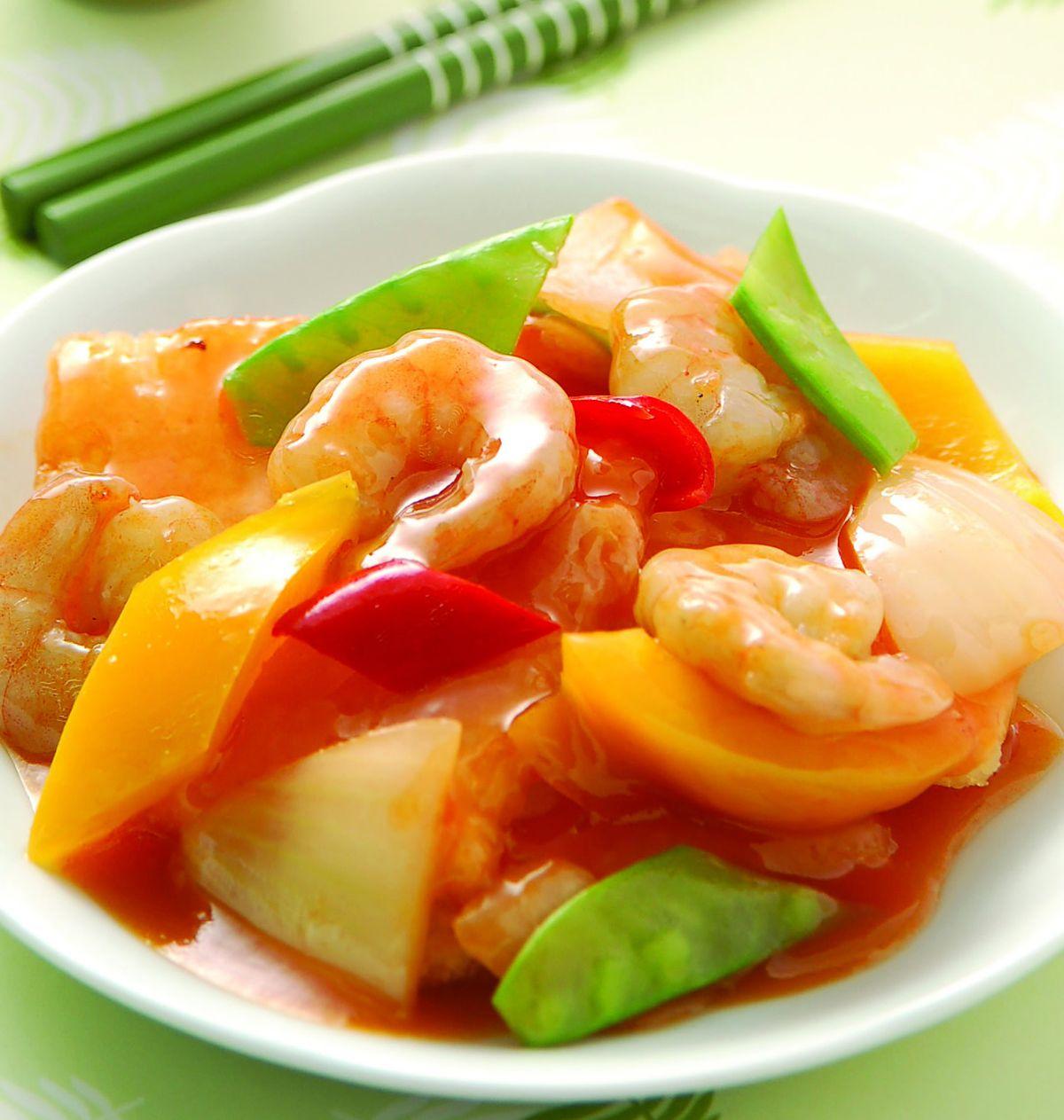 食譜:鍋粑蝦仁(1)