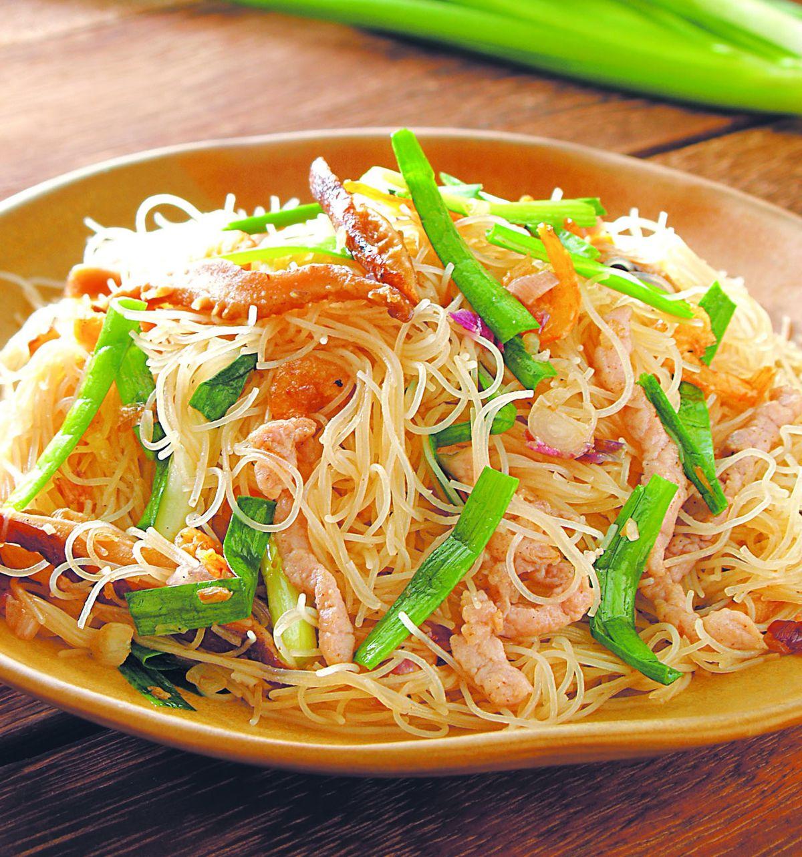 食譜:客家炒米粉(1)