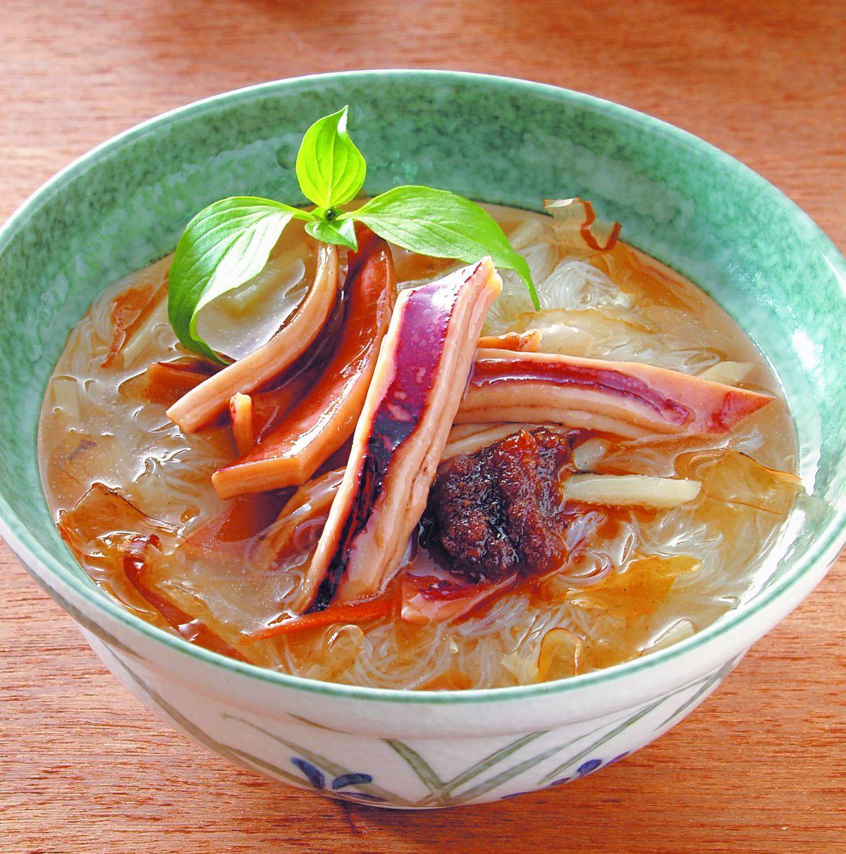 食譜:魷魚羹米粉