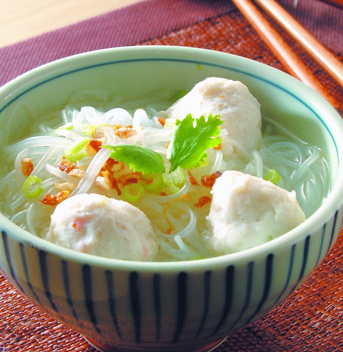 食譜:魚丸米粉湯