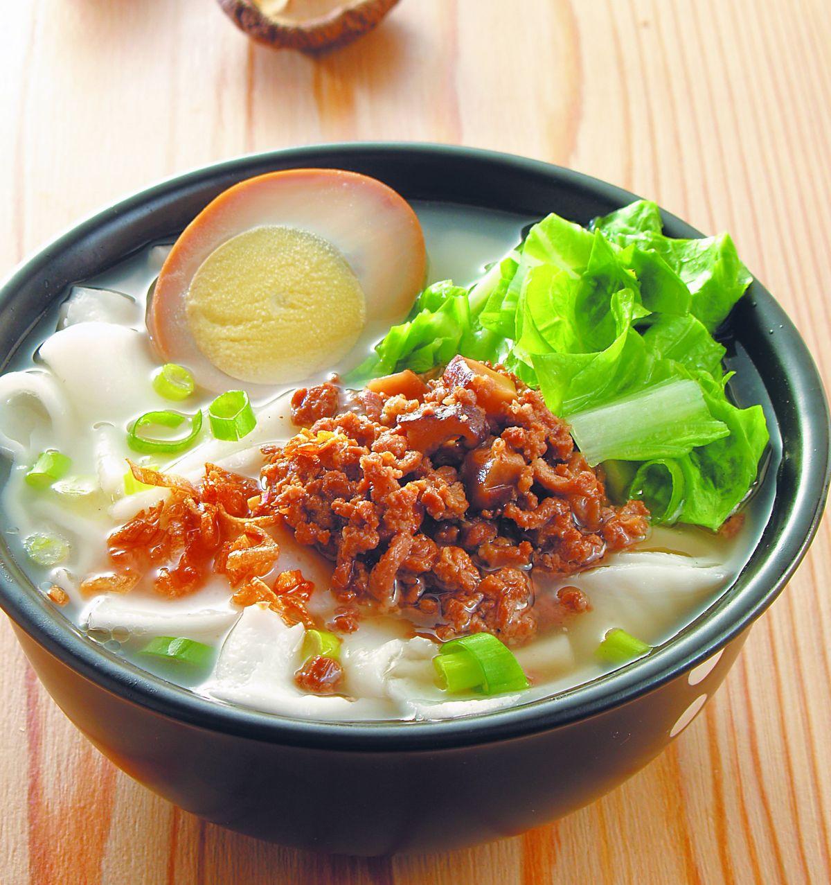 食譜:香菇肉燥粄條湯(1)