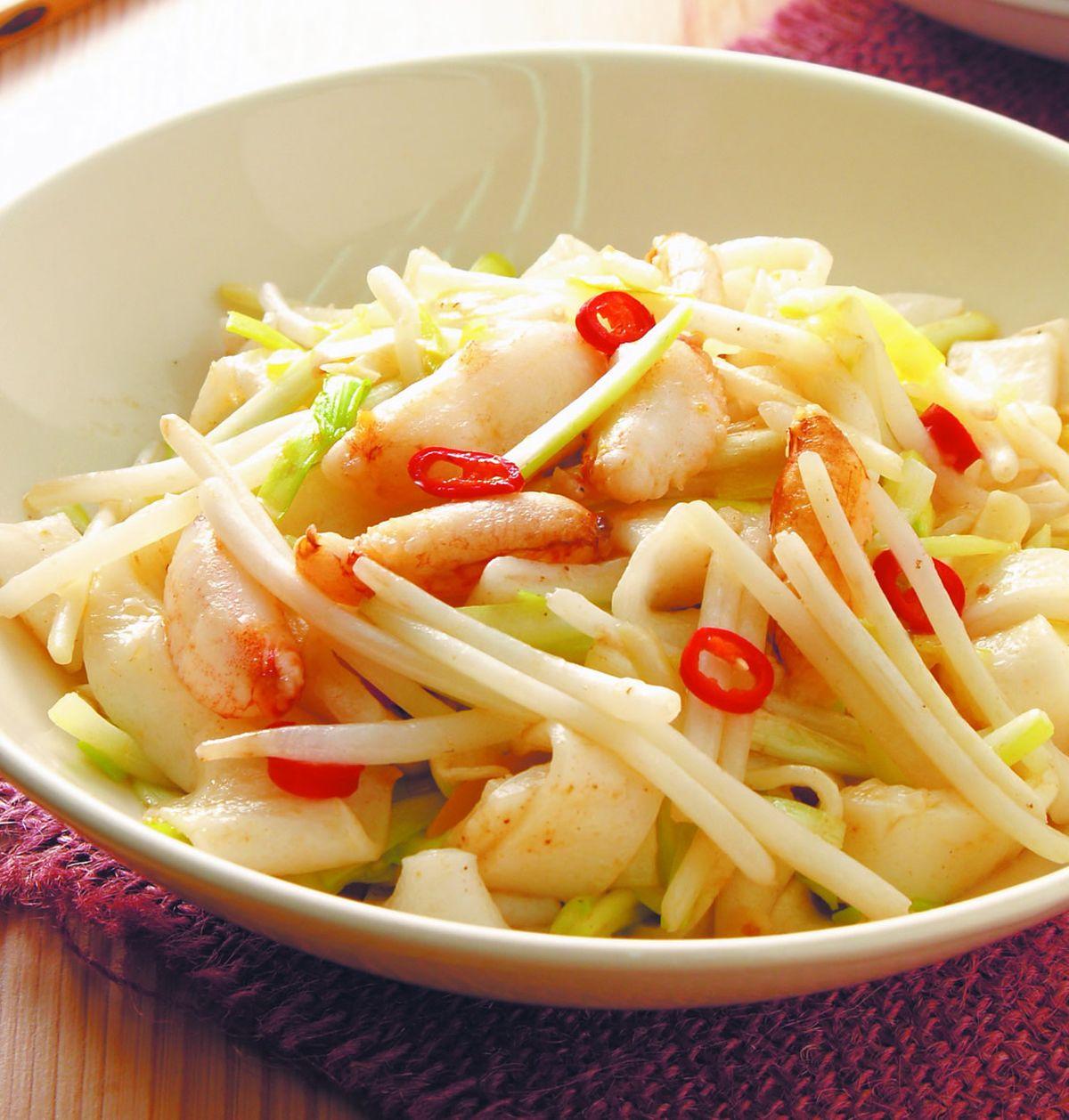 食譜:蟹肉炒河粉