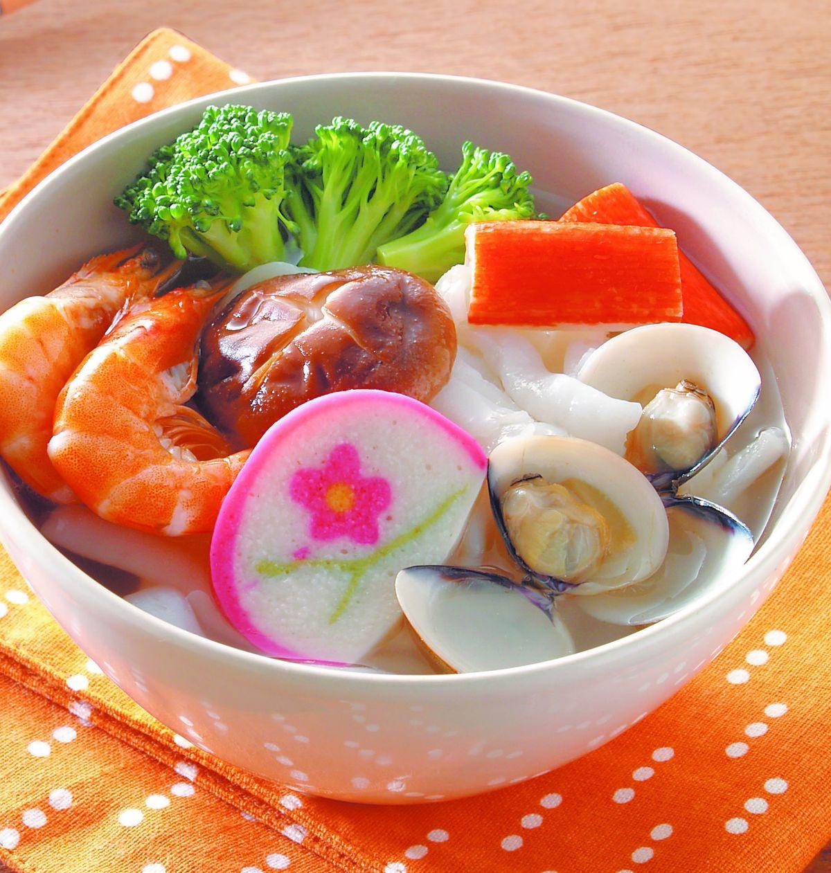 食譜:海鮮粿仔條湯