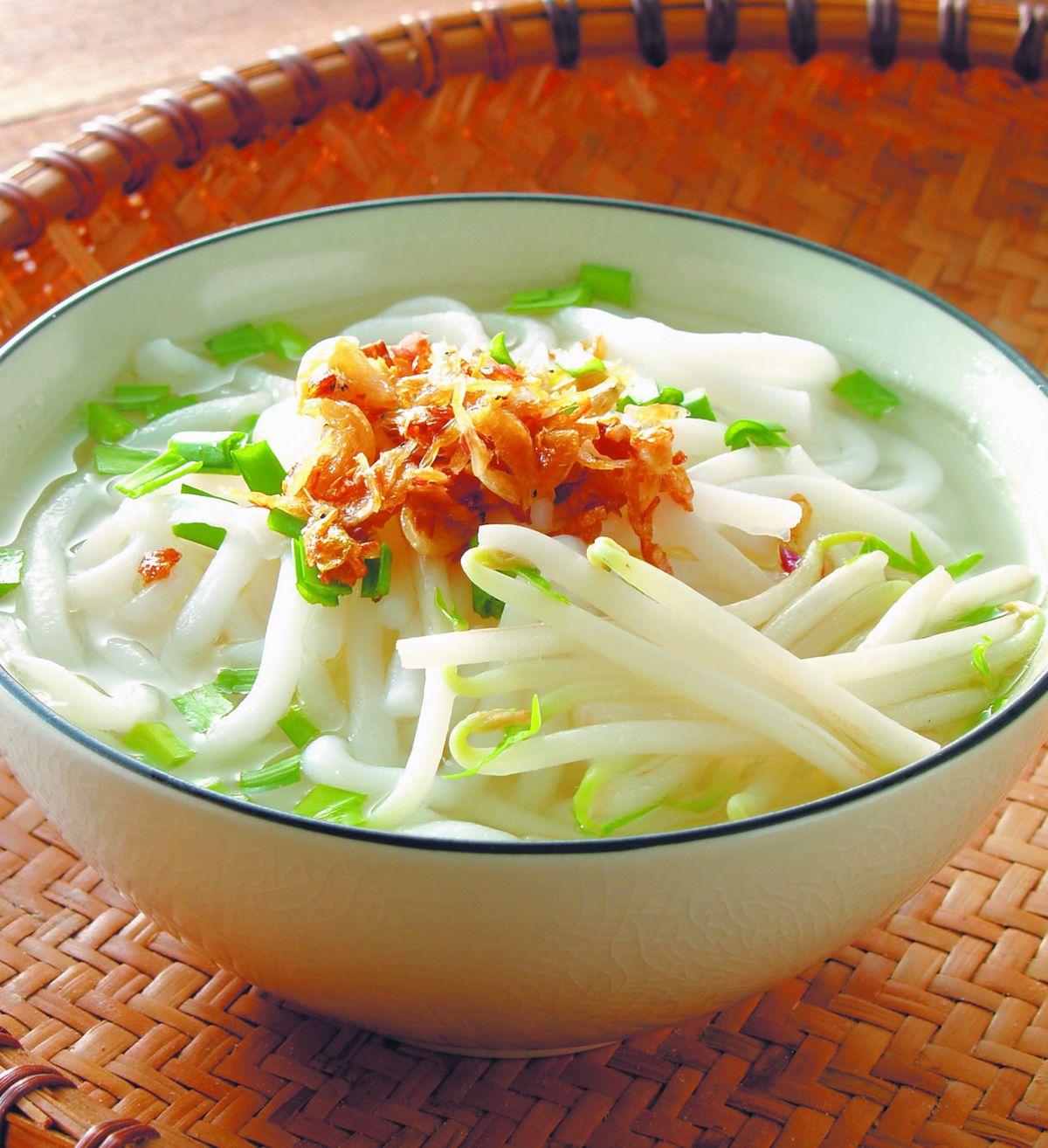 食譜:米苔目湯