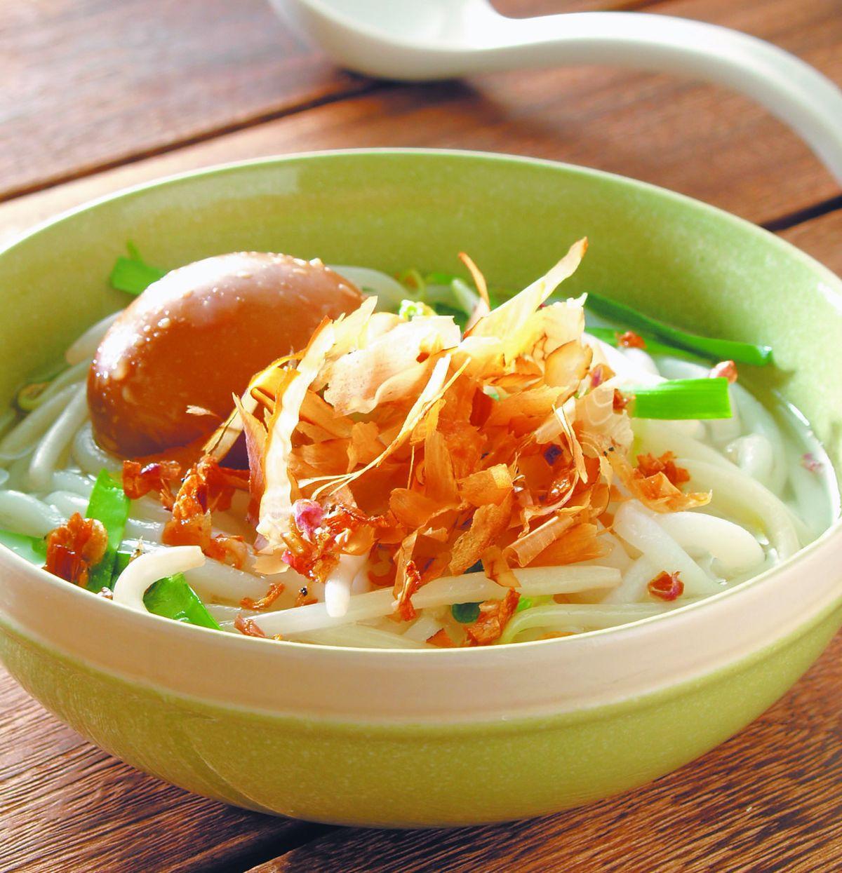 食譜:柴魚米苔目