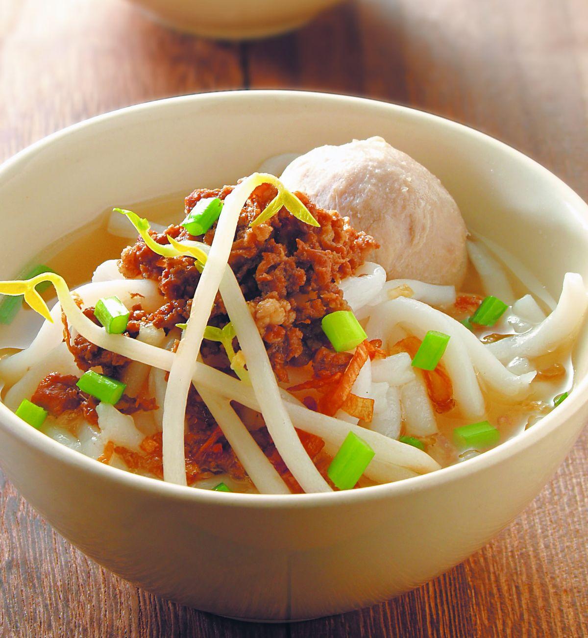食譜:肉臊米苔目湯