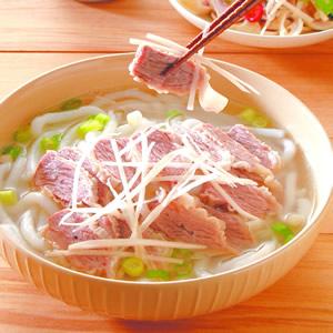 肝連米苔目湯