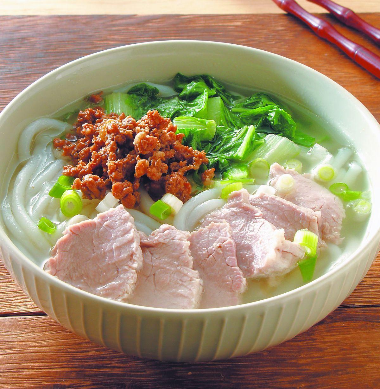 食譜:肉片米苔目