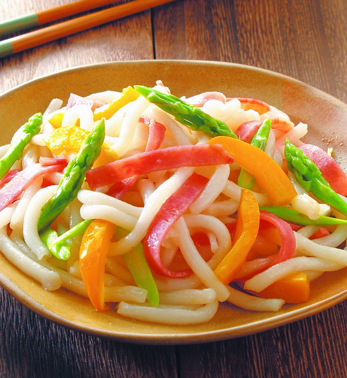 食譜:火腿炒米苔目