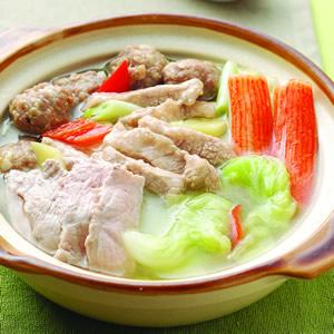 白菜肉羹丸子鍋