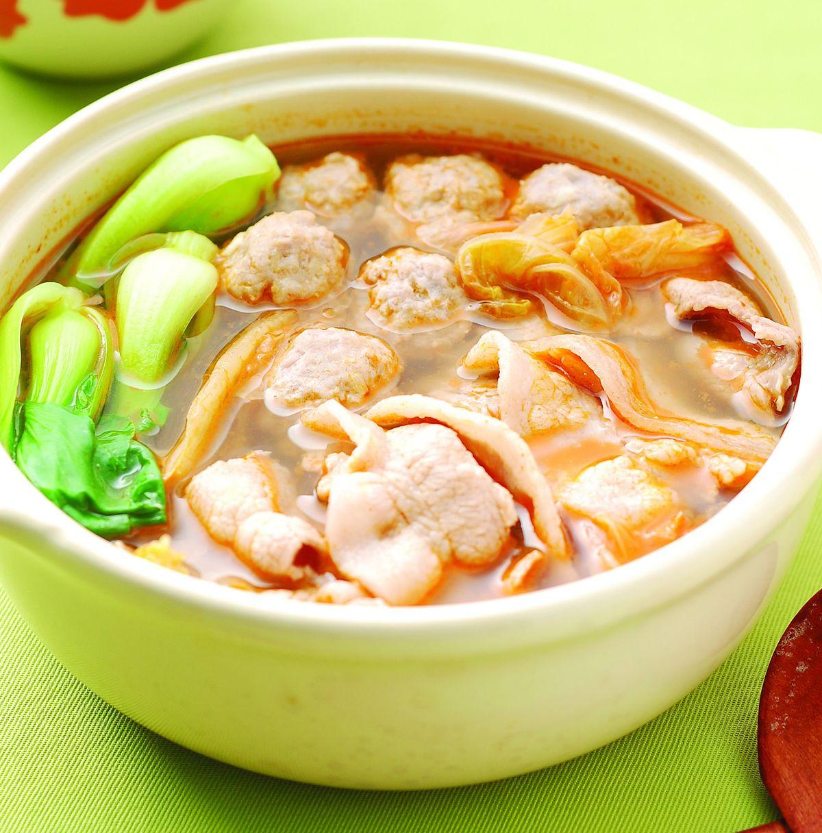 食譜:泡菜豬肉鍋