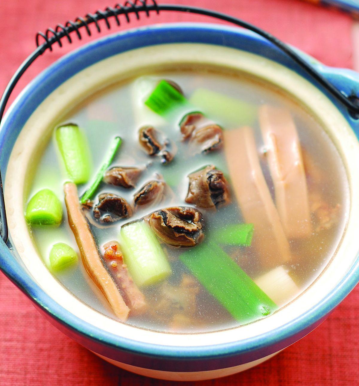 食譜:魷魚螺肉蒜(3)