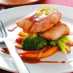粉椒醇燒魴魚