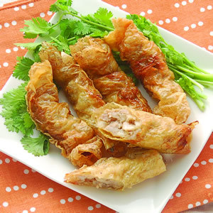酥炸雞捲(1)