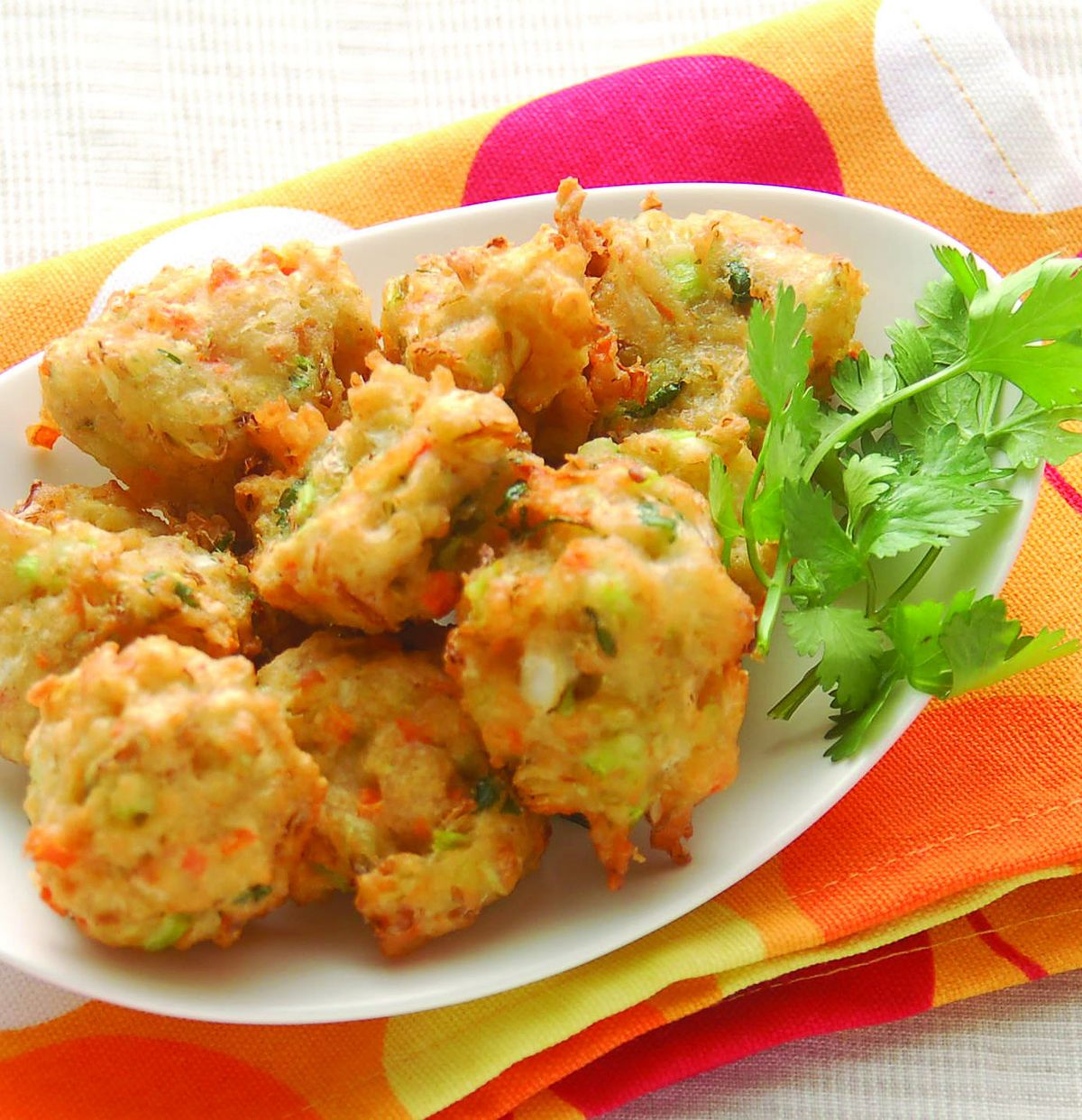 食譜:蔬菜小丸子