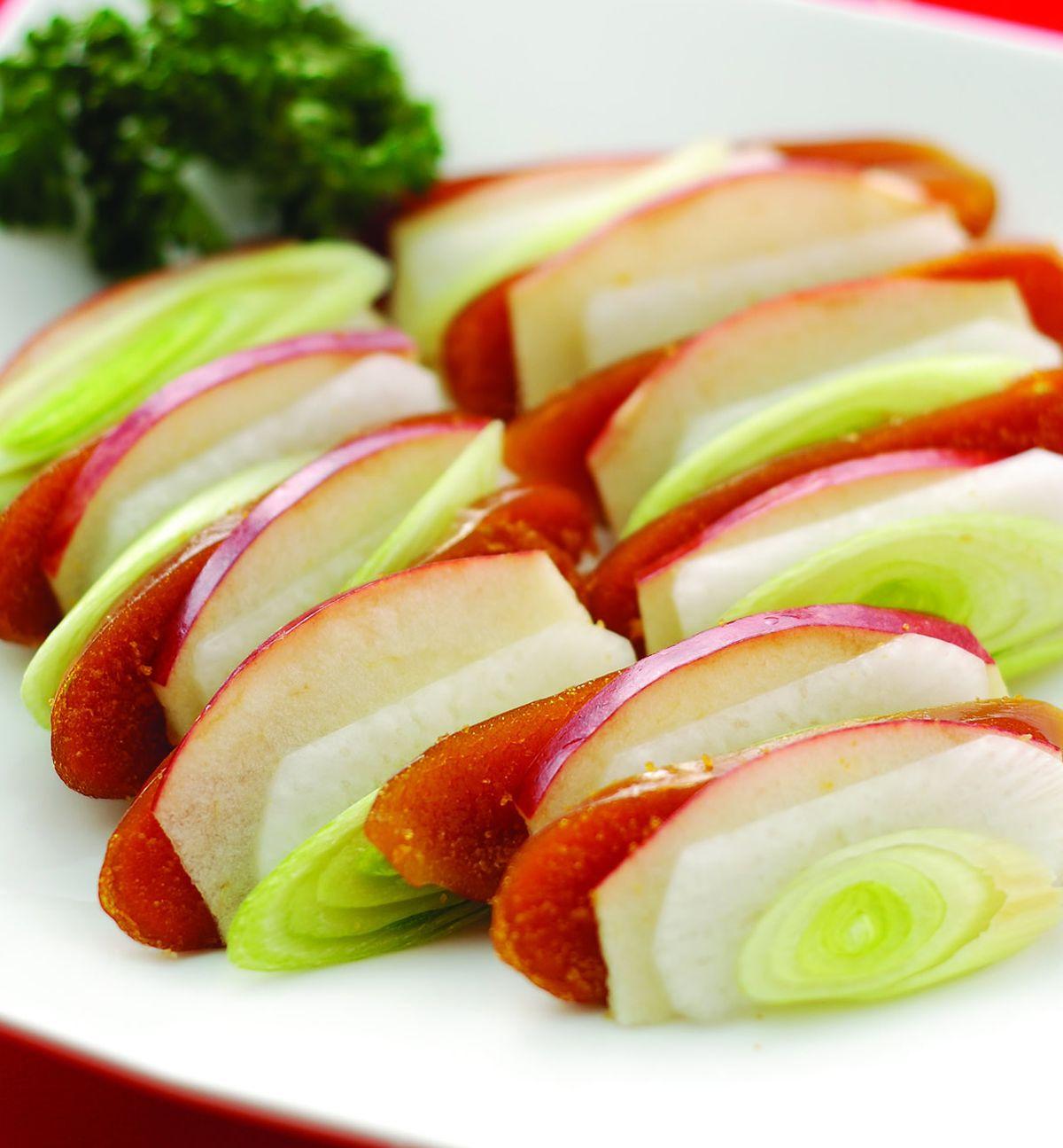 食譜:蘋果烏魚子(1)
