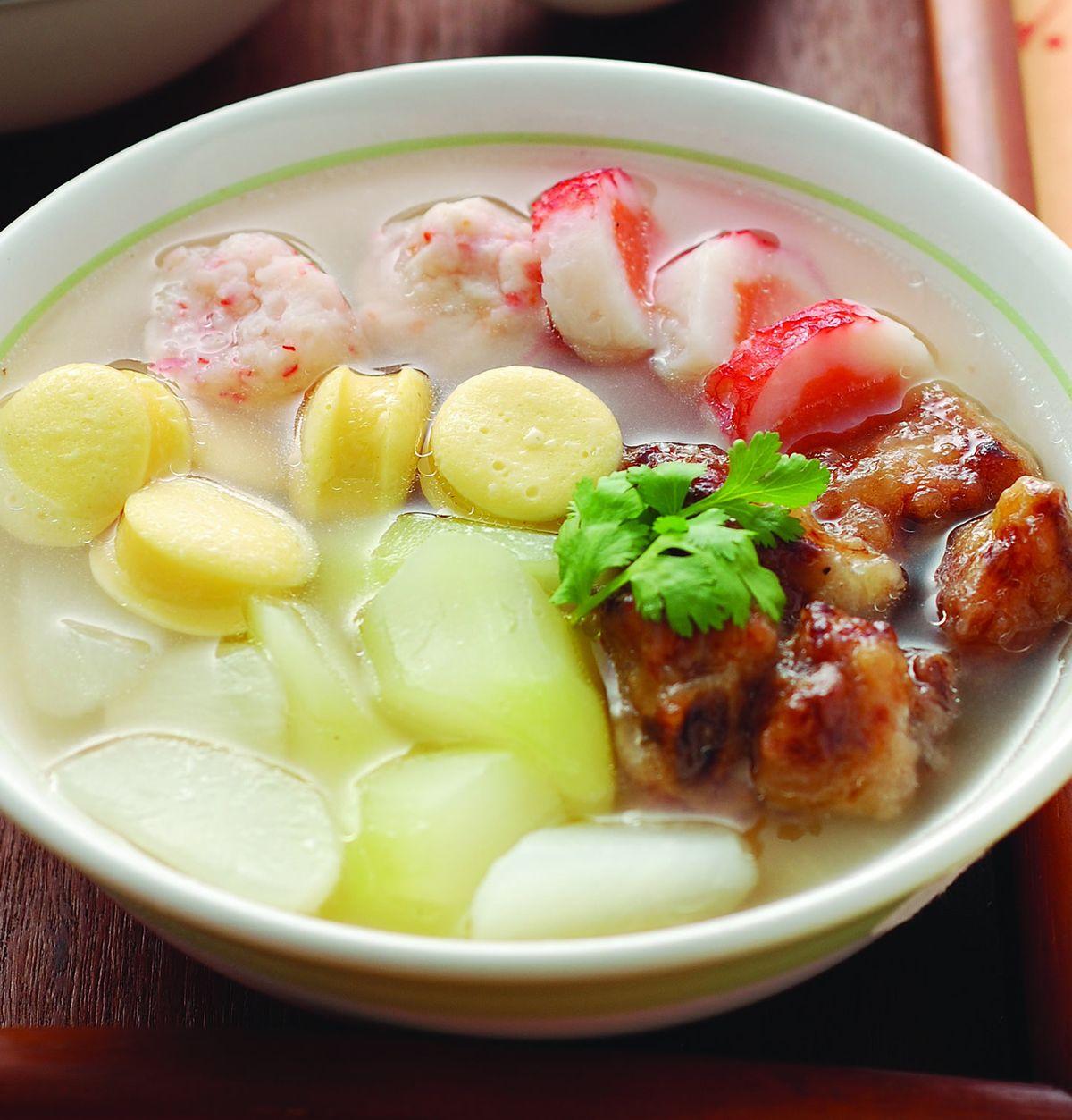 食譜:團圓蘿蔔排骨湯