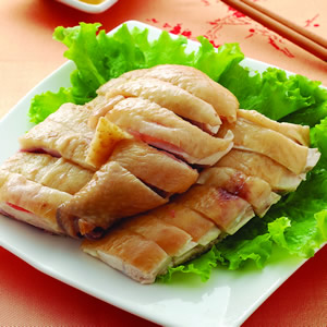 白斬雞佐桔醬