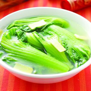 長年菜雞湯(1)