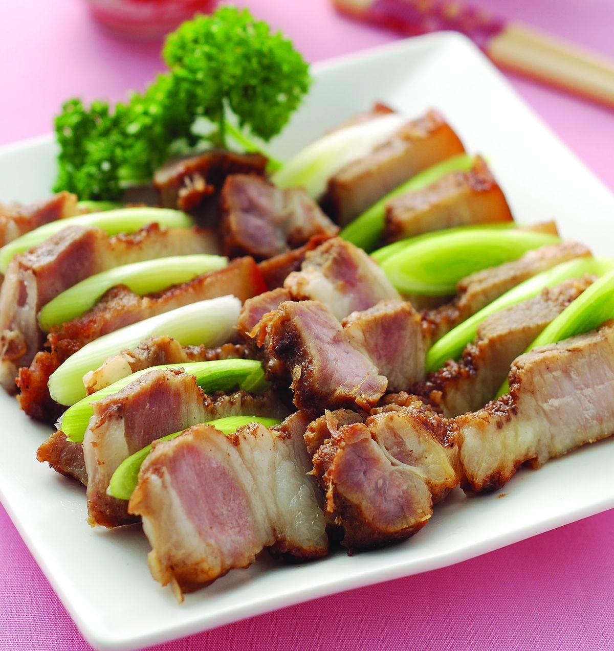 食譜:客家鹹豬肉(2)