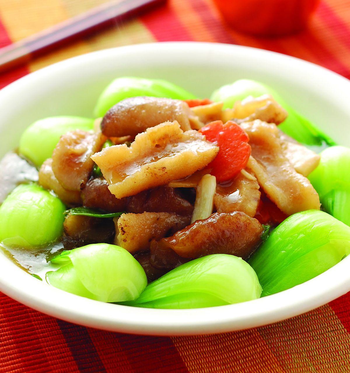 食譜:紅燒海參(2)