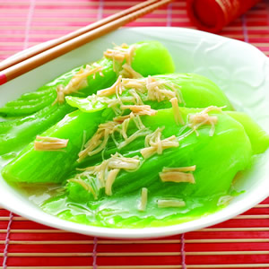 干貝燴芥菜