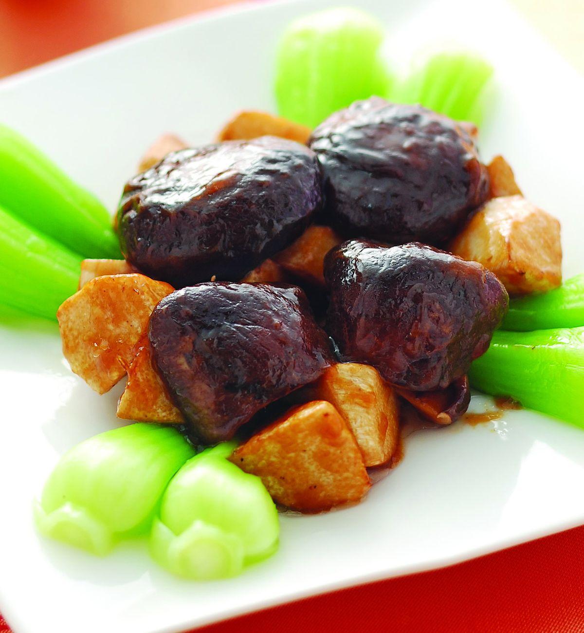 食譜:香菇燴冬筍(1)