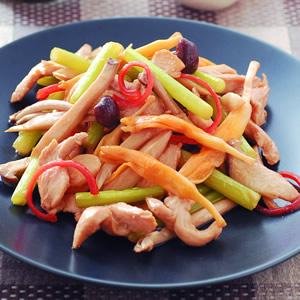 嫩雞燴野菜