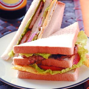 碳燒里肌三明治