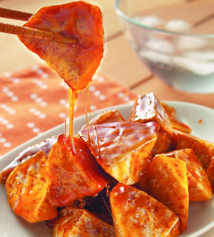 食譜:拔絲芋頭(油水拔法)
