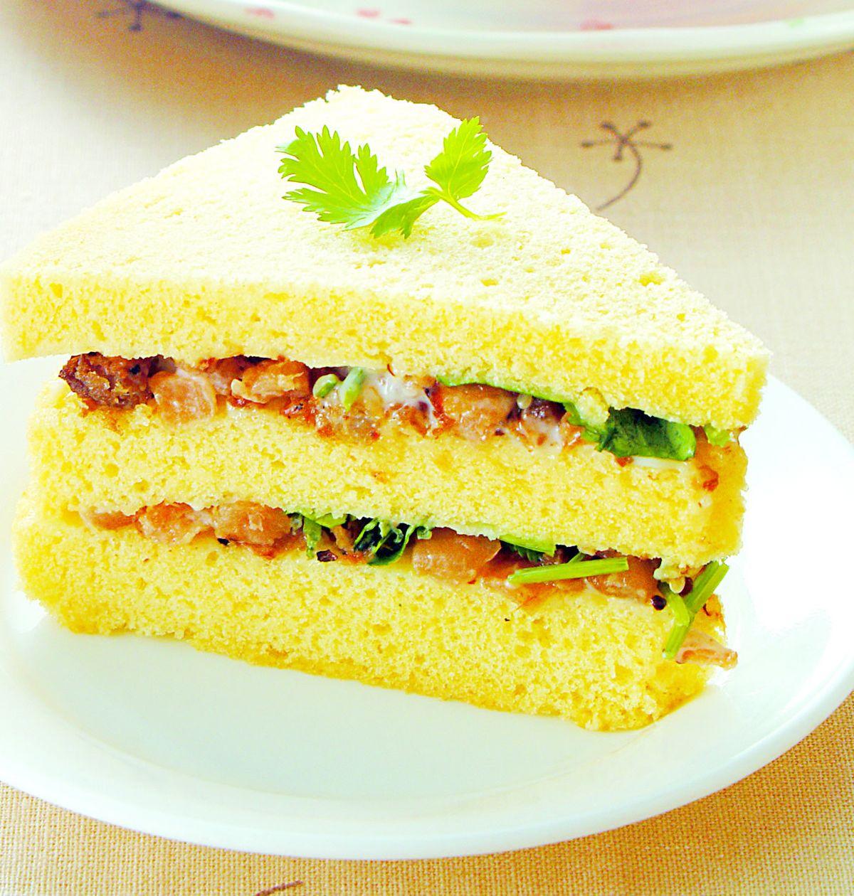 食譜:肉燥菜脯蛋糕