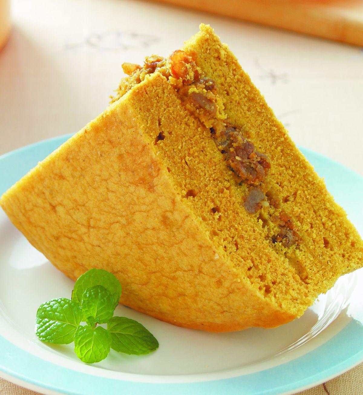 食譜:咖哩肉燥鹹蛋糕