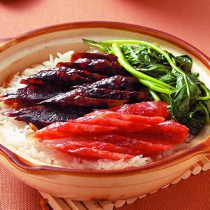 臘味煲仔飯(1)