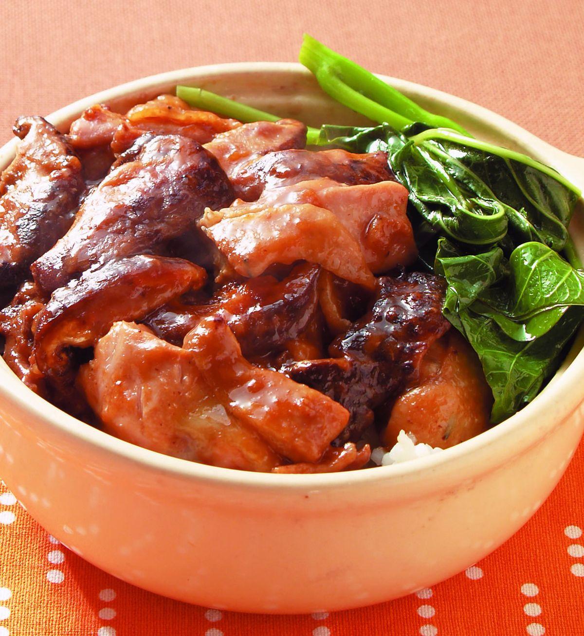食譜:北菇滑雞飯