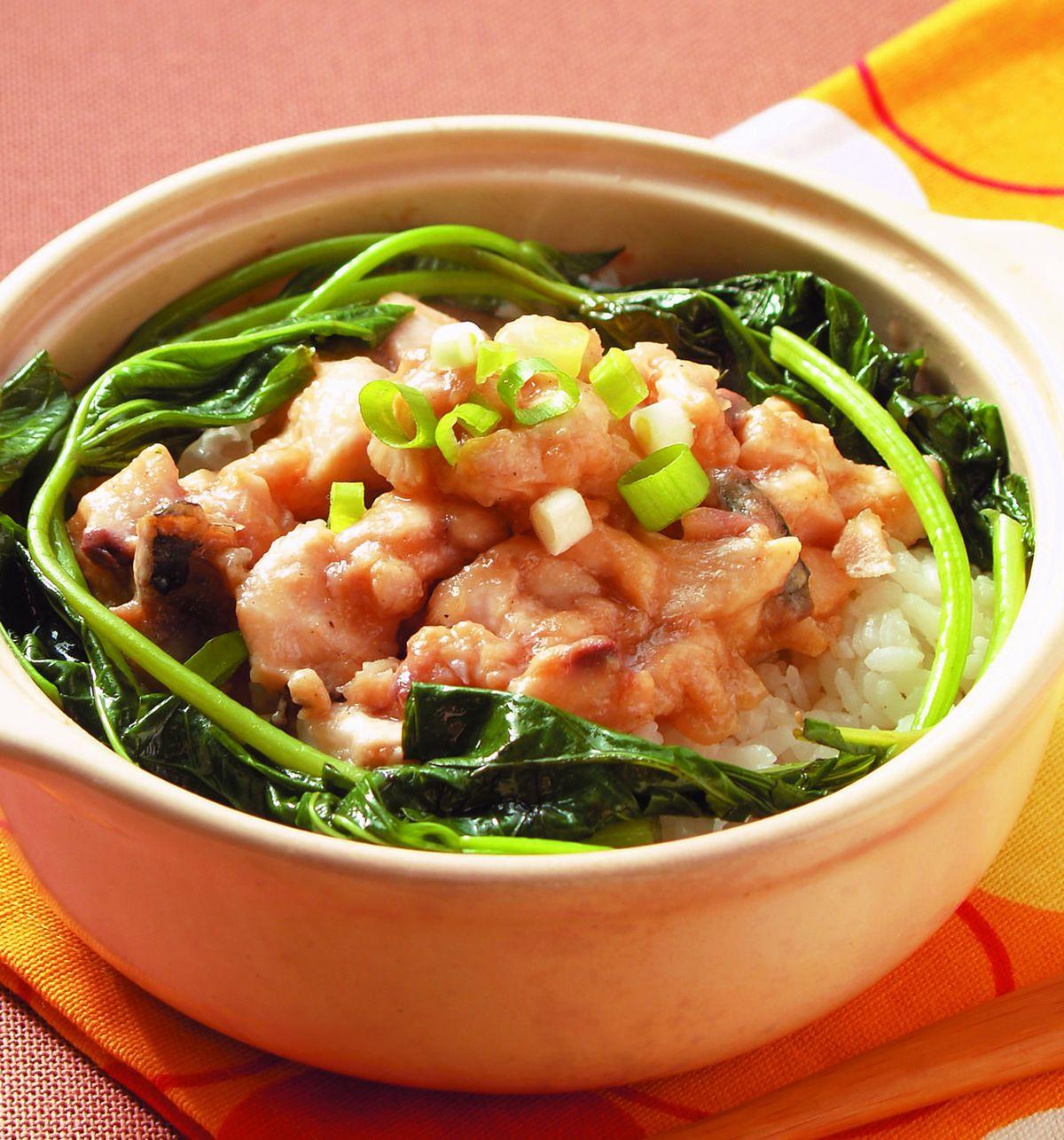 食譜:鹹魚雞粒煲仔飯
