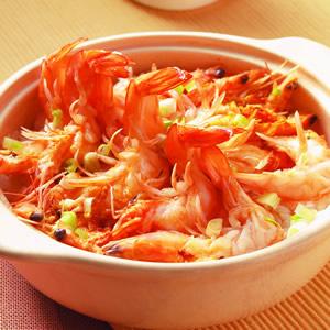 鮮蝦煲仔飯