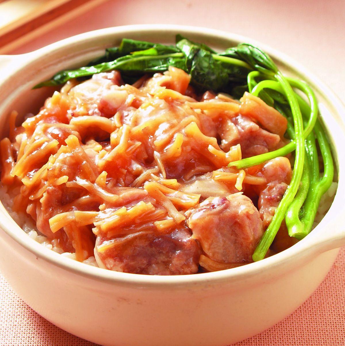 食譜:瑤柱排骨煲仔飯(1)