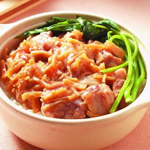 瑤柱排骨煲仔飯(1)