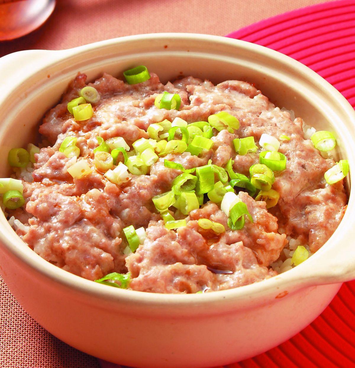 食譜:鹹魚肉餅煲仔飯