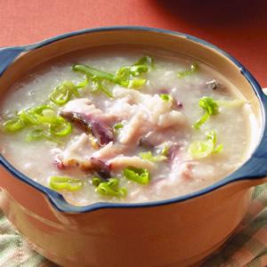 魚片砂鍋粥