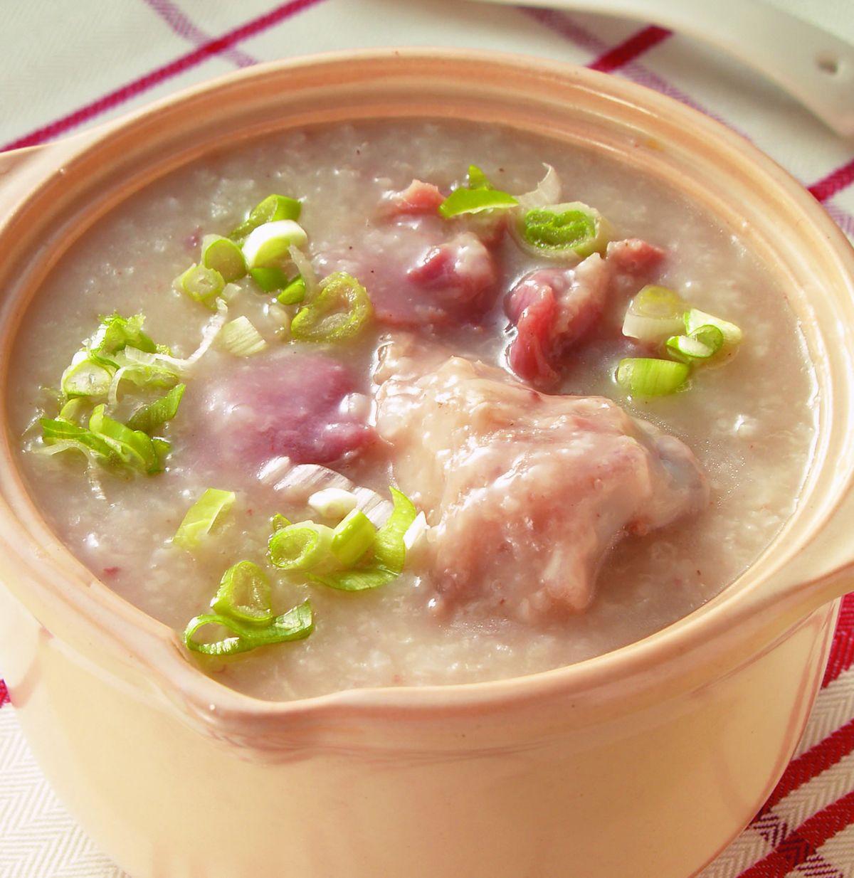 食譜:豬骨砂鍋粥