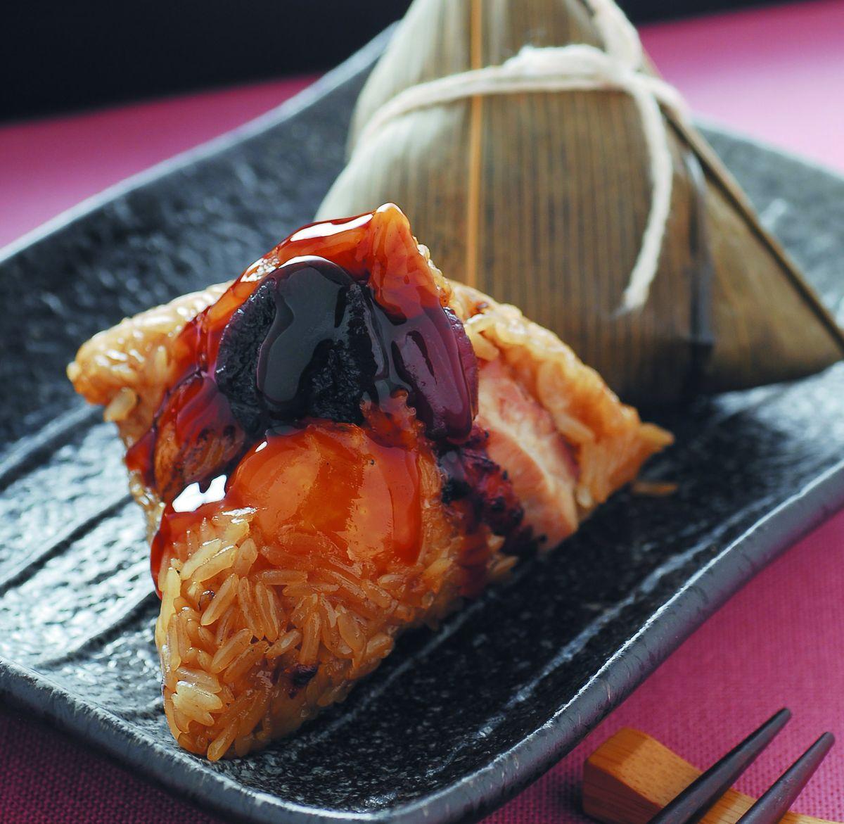 食譜:雞肉粽